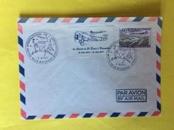 Enveloppe Salon Du Bourget 1977 / 1922 Commémoration Du Spirit Of Saint Louis à Concorde Aviation Histoire Aerienne - Poste Aérienne