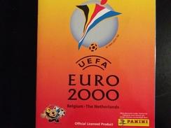 FOOT STICKERS PANINI UEFA EURO 2000 - LOT 11 STICKERS EXCELLENT ETAT DOS DORIGINE - VOIR DESCRIPTION - Panini