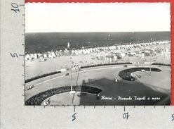 CARTOLINA VG ITALIA - RIMINI - Piazzale Tripoli A Mare - 10 X 15 - ANN. 1959 - Rimini