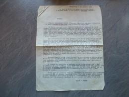 Guerre D'INDOCHINE 1946 Lettre à Mme JAVET Mère Annonçant Le Décès Du Lt. JAVET ASNIERES, Ref 123 VP37 - Documents Historiques