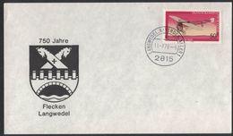 """AU53  Germany 1973 Coat Of Arms, Wappen """" Langwedel """" - Buste"""