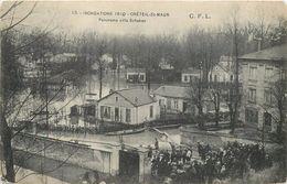 CRETEIL-SAINT MAUR - Panorama Villa Schaken (dos Carte Publicitaire). - Creteil