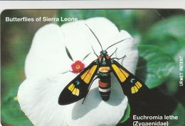 Sierra Leone - Butterflies - Euchromia Lethe - Sierra Leone