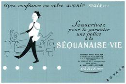 """(Buvard D 12)   Buvard Assurance """"la Séquanaise"""" - Blotters"""