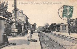 URCEL - Vue De La Gare De Chailvet-Urcel, Fondée En 1866 - Train - France