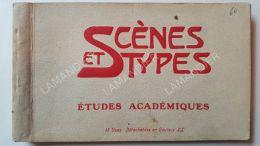 CPA - Scènes Et Type - Études Académiques - MAROC - Femmes Aux Seins Nus - Oriental Background