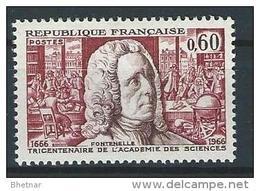 "FR YT 1487 "" Académie Des Sciences "" 1966 Neuf** - France"