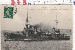 Bateau De Guerre  - Cuirasse D Escadre - ( Liberte ) - Guerra
