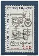 """FR YT 2341 """" Centenaire De 'Automobile """" 1984 Neuf** - Unused Stamps"""