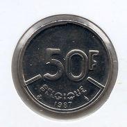 50 Frank 1987 Frans * Prachtig * Nr 9733 - 1951-1993: Baudouin I
