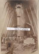SAINT NAZAIRE 1932 - Photo Originale Des Derniers Préparatifs Du Paquebot '' Le Normandie ''  ( Loire Atlantique ) - Lieux