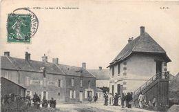 RYES - La Gare Et La Gendarmerie - Autres Communes