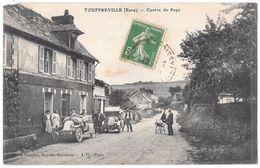 TOUFREVILLE - Centre Du Pays (rue Animée - Voitures) - France