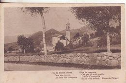 20-P.M.1^ Guerra-Cart Tema Paesaggi-bollo Posta Militare ? Divisione-1917 X Gragnano-Lucca-Toscana-Poesia R.Pitteri - Guerre 1914-18