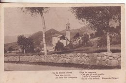 20-P.M.1^ Guerra-Cart Tema Paesaggi-bollo Posta Militare ? Divisione-1917 X Gragnano-Lucca-Toscana-Poesia R.Pitteri - War 1914-18