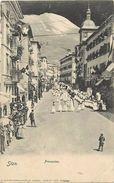 -ref  V740- Suisse - Sion - Procession - Carte Bon Etat  - - Suisse