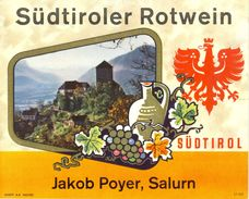 1488 - Autriche - Südtiroler Rotwein - Jakob Poyer - Salurn - Südtirol - Vino Rosso