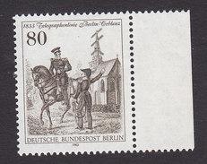 Germany, Berlin, Scott #9N484, Mint Never Hinged, Telegraph Service, Issued 1983 - [5] Berlin