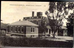 SPRINGFIELD HOSPITAL SPRINFIELD VERMONT - Etats-Unis