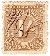 (I.B) Australia - Queensland Revenue : Unemployment Insurance 1/- - Australia