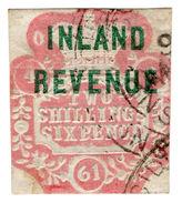 (I.B) QV Revenue : Inland Revenue 2/6d (SG F38) - 1840-1901 (Victoria)