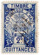 (I.B) Haiti Revenue : Receipt 2c - Haiti