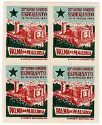 (I.B) Cinderella (Esperanto) Collection : Congress Label (Mallorca 1961) - Poland
