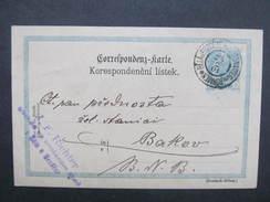 GANZSACHE Bela U Bezdeze Weisswasser 1901 - Bakov J.F.Richter Korrespondenzkarte /// D*28140 - Briefe U. Dokumente