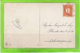 Fantasiekaart Met OCB 108 - Afstempeling CLINGE - COBA 15 - 1912 Pellens