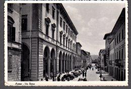 1954 AREZZO Via Roma FG V SEE 2 SCANS Animata - Arezzo