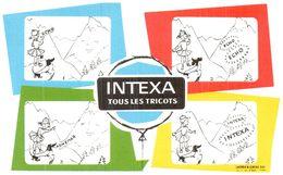 Tr In/ Buvard Tricot Intexa (N= 6) - Blotters
