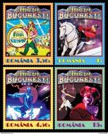 Romania 2017 / Circus / Set 4 Stamps - Ungebraucht