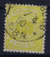Luxembourg : Mi 30 B Dunkel Gelb   Used  1875 - 1859-1880 Wappen & Heraldik