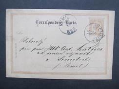 GANZSACHE Jechnitz - Semily 1897 Korrespondenzkarte /// D*28151 - 1850-1918 Imperium