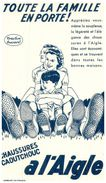 (Buvard D 12)   Buvard Chaussures A L'Aigle - Blotters