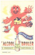 (Buvard D 12)   Buvard Alcool A Bruler - Blotters