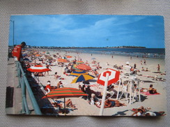 Hampton Beach Is A Well-known Center Of Seaside Fun. Plastichrome DS142. Postmarked 1962. - Etats-Unis