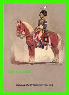 MILITARIA - FINLANDE - KARJALAN KEVYET RAKUUNAT 1798-1809 - KARELENNS DRAGONER, 1802 - - Régiments