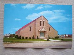 St. Elizabeth's Church, Seabrook Beach. Tichnor Bros. Postmarked 1962. - Etats-Unis