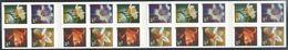 US  2001  Sc#3490f  34c Flowers Booklet Of 20 Face Value $6.80 - Markenheftchen