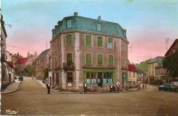 CPSM - BEAUCOURT (90) - Aspect De La Place De La République Et Du Café Beleydans Les Années 50 - Beaucourt