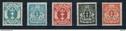Danzig Michel Nr. 138 - 142 Postfrisch - Danzig