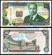 Kenya 10 SHILLINGS 1990 P 24b UNC (Kenia,Quénia) - Kenia