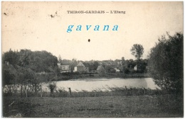 28 THIRON-GARDAIS - L'étang - Andere Gemeenten