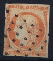 France: Yv Nr 5 A Obl./Gestempelt/used - 1849-1850 Ceres