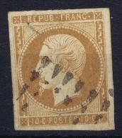 France: Yv Nr 9 Obl./Gestempelt/used 1852  Un Faux De Fournier (fake By Fournier) - 1852 Luigi-Napoleone