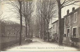 Chamborigaud Quartier De La Poste Et Mairie - France