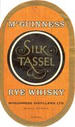 1495 - Canada - Mc Guinness - Silk Tassel - Rye Whisky - Mc Guinness Distillers Ltd. Mimico Ontario - Whisky