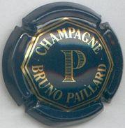 CJ-CAPSULE-CHAMPAGNE PAILLARD Bruno N°01 Bleu Foncé & Or - Champagne