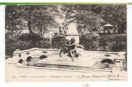 CPA-75-1905-PARIS-MONUMENTS- LE LUXEMBOURG-LE MONUMENT DELACROIX- - France